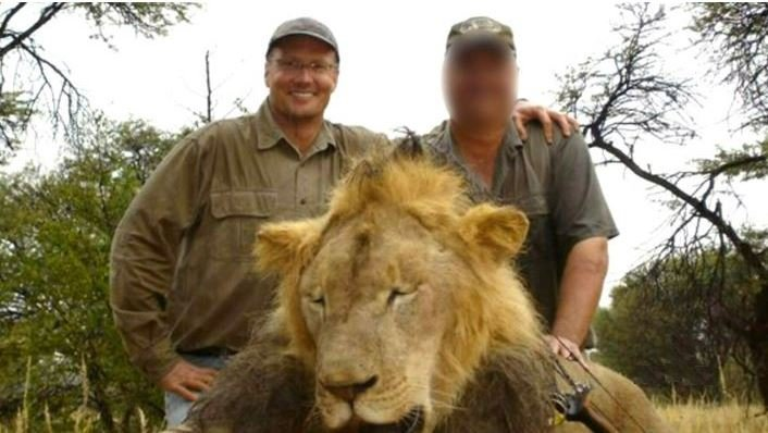 Cecil the Lion and Walter Palmer the man who shot him