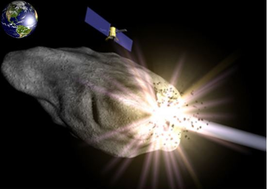 Combined method to deviate killer asteroid