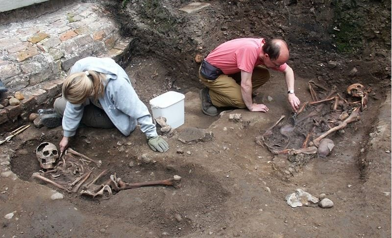 Roman age decapitated bodies found in York