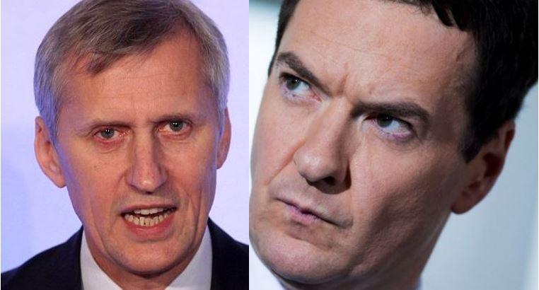 Martin Wheatley and George Osborne