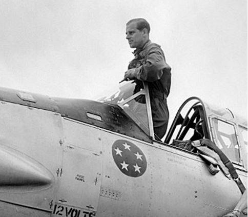 Prince Philip pilot