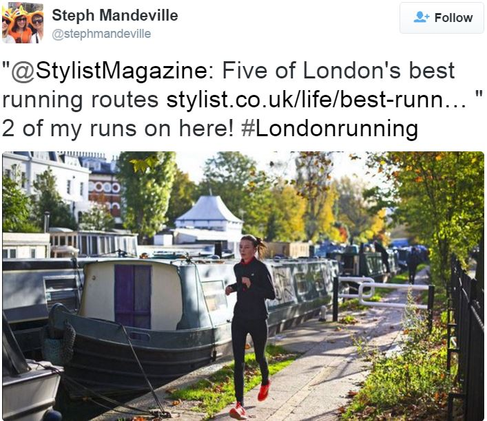 Running in London
