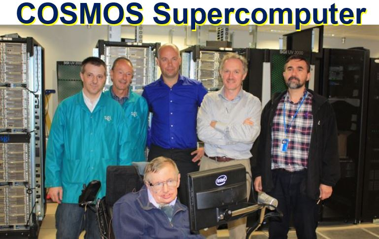 COSMOS supercomputer and team
