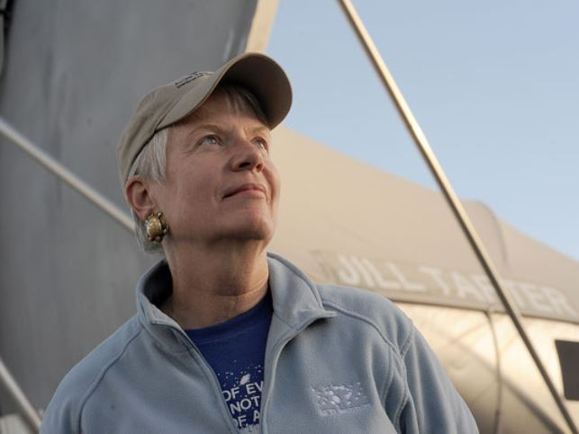 Dr Jill Tarter in the search of alien life