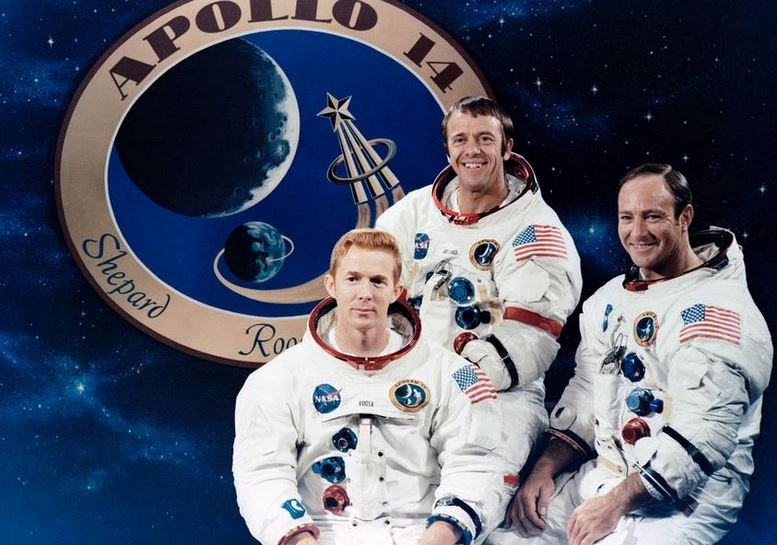 Edgar Mitchell and Apollo 14 crew members