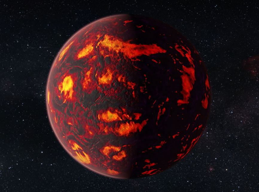 Planet with atmosphere detected just helium and hydrogen no water