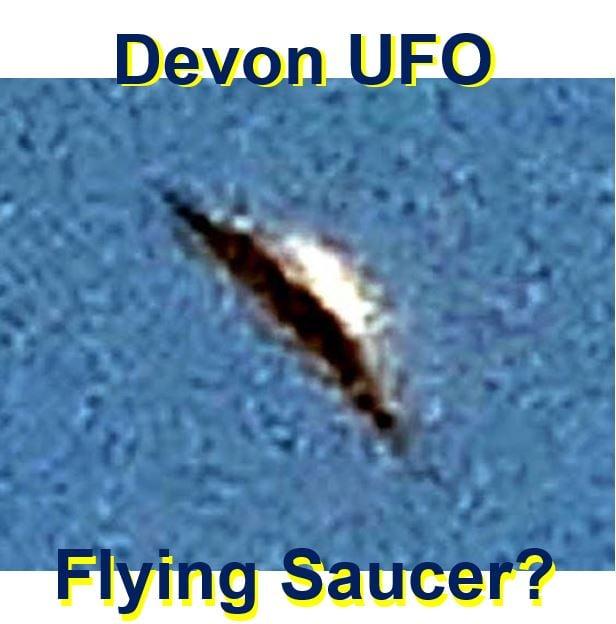 UFO spotted in Devon