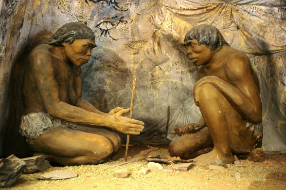 Ancestors started using fire