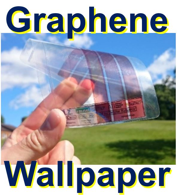 Graphene wallpaper could power your home