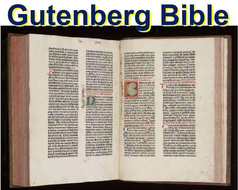 Gutenberg Bible Cambridge University Library