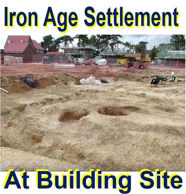 Iron Age Settlement and cemetery at building site
