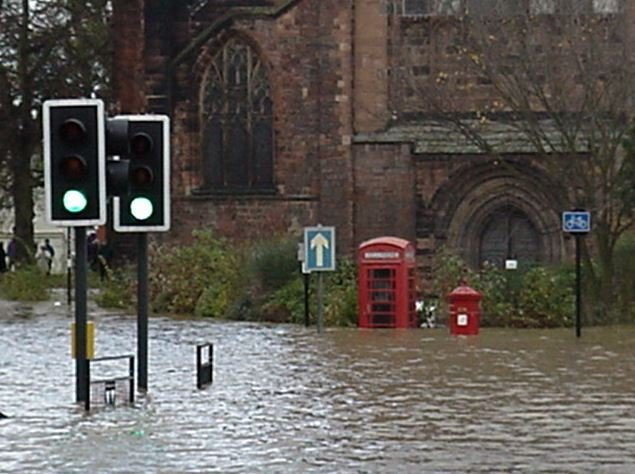 More floods in England