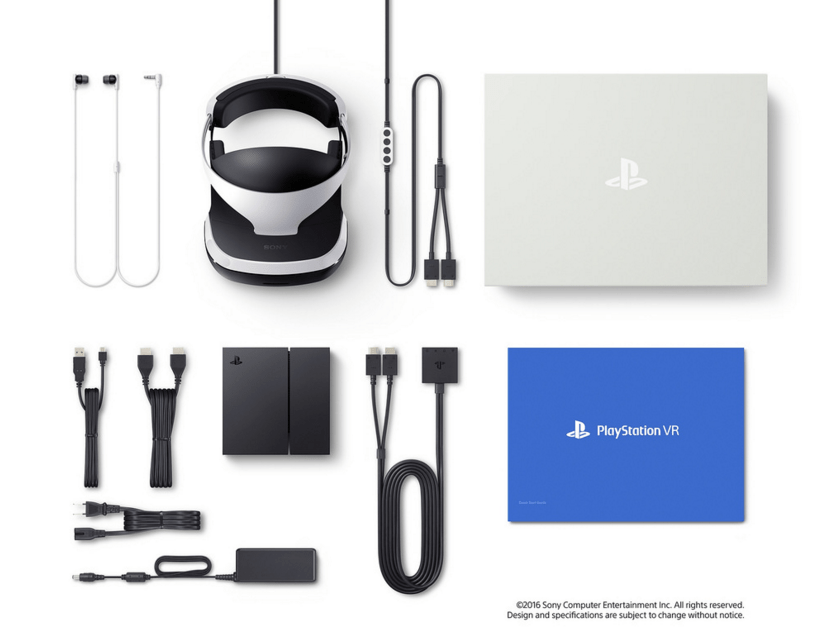 Playstation VR headset consumer ready