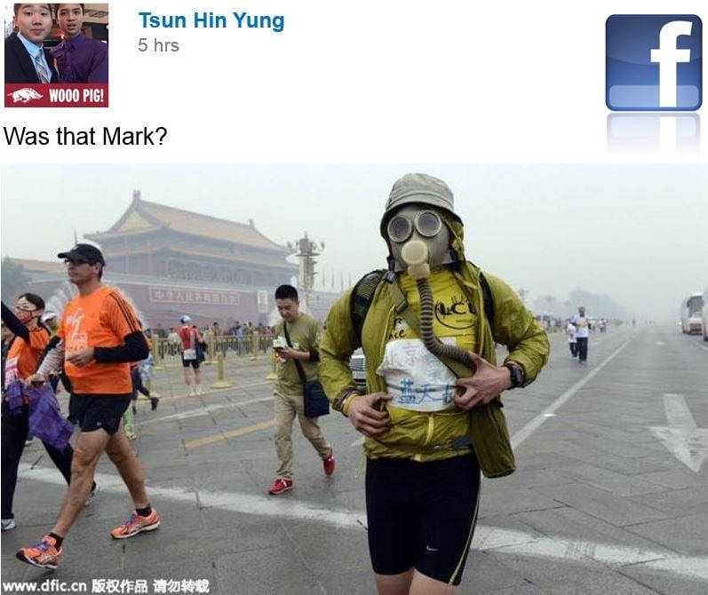 Social media mocking Facebook boss