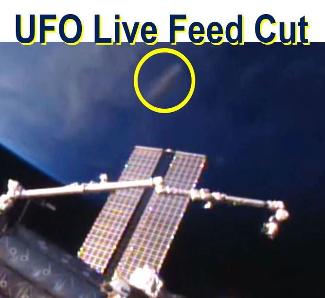 UFO live feed cut by NASA