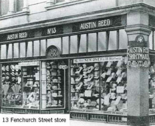 Austin Reed first store