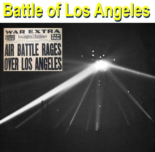 Battle of Los Angeles 1942