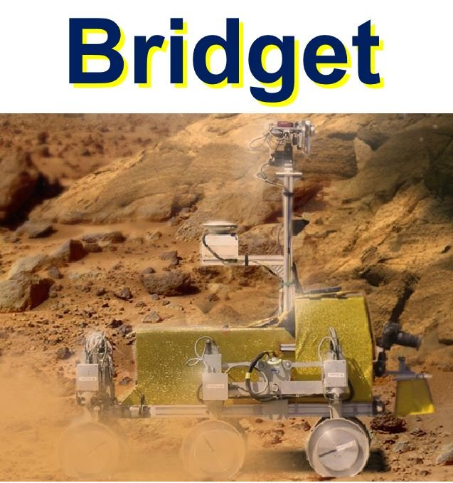 Bridget Rover to be controlled by Tim Peake