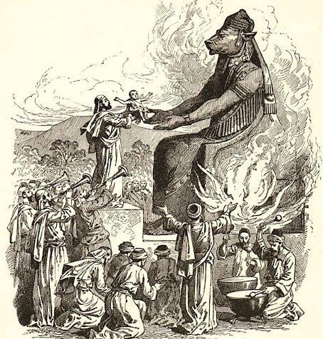 Carthiginian human sacrifice