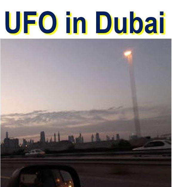 UFO in Dubai