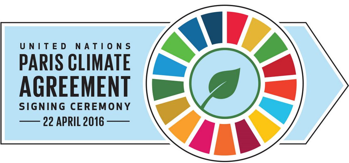 UN Paris Agreement Signing ceremony