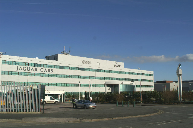 Halewood Body & Assembly, a Jaguar Land Rover assembly plant in Halewood