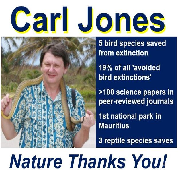 Carl Jones conservation biologist
