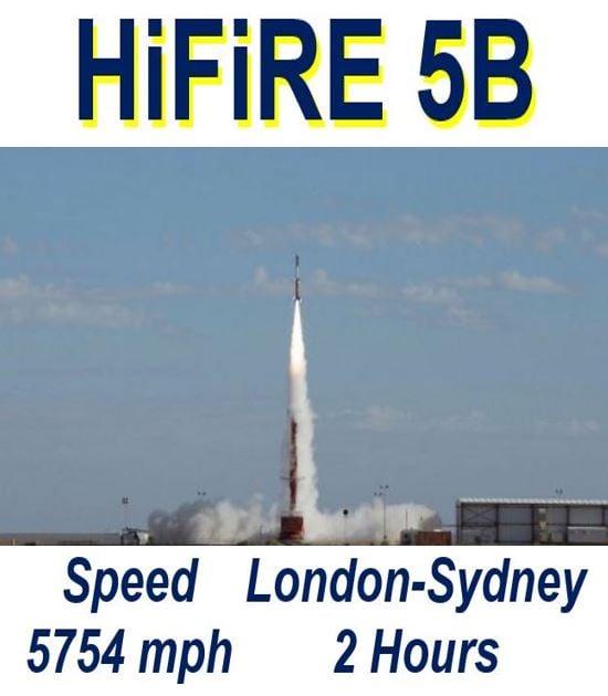 Hypersonic test flight of HiFiRE 5B