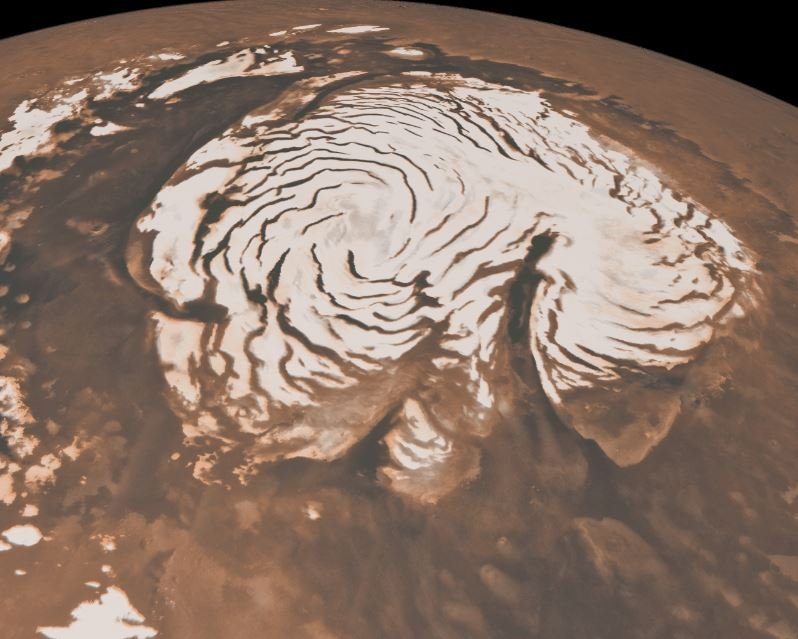 North Pole Mars