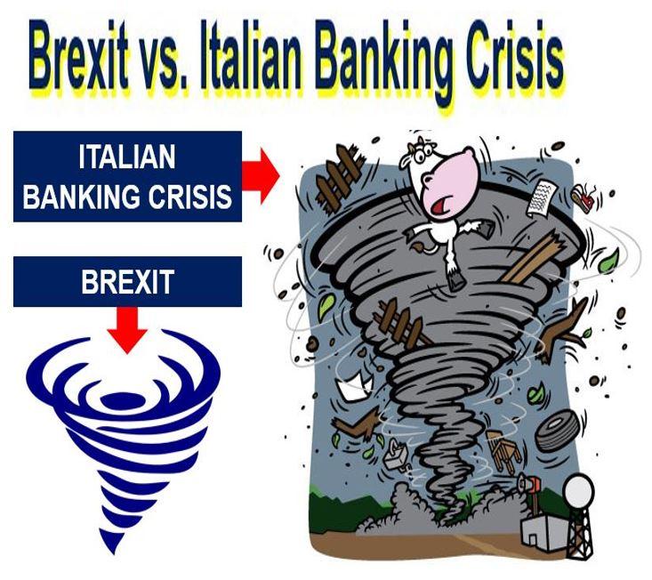 Brexit versus the Italian Banking Crisis