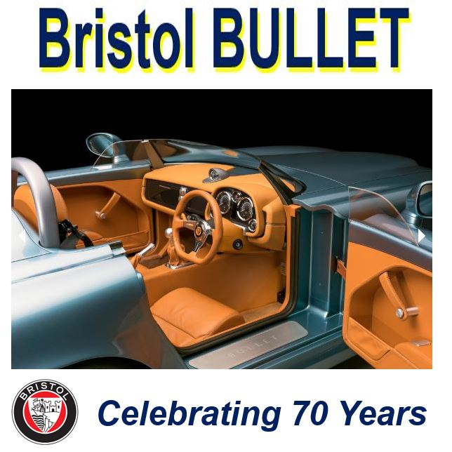 Bristol Bullet celebrating seventy years