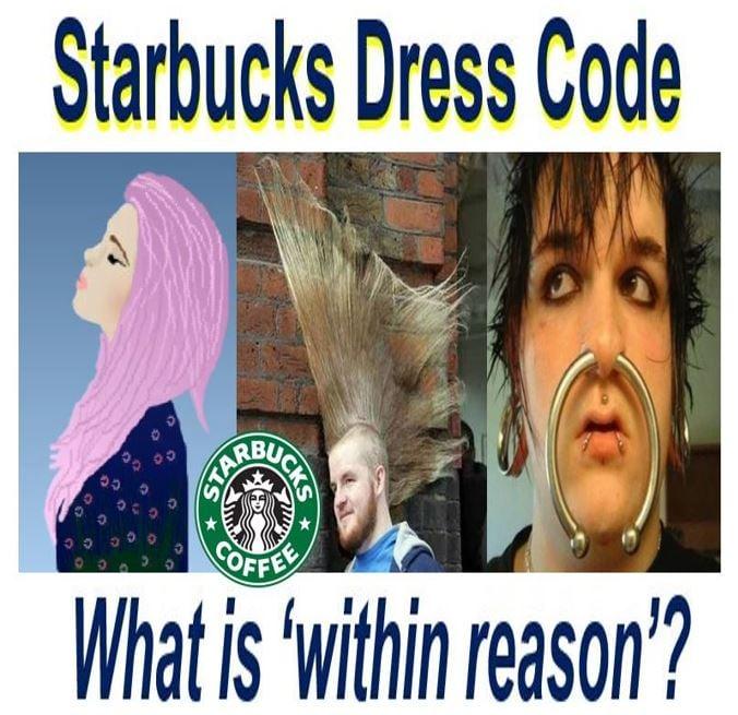 How far does Starbucks dress code go