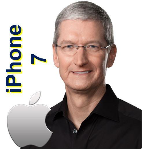 Tim Cook Apple iPhone 7
