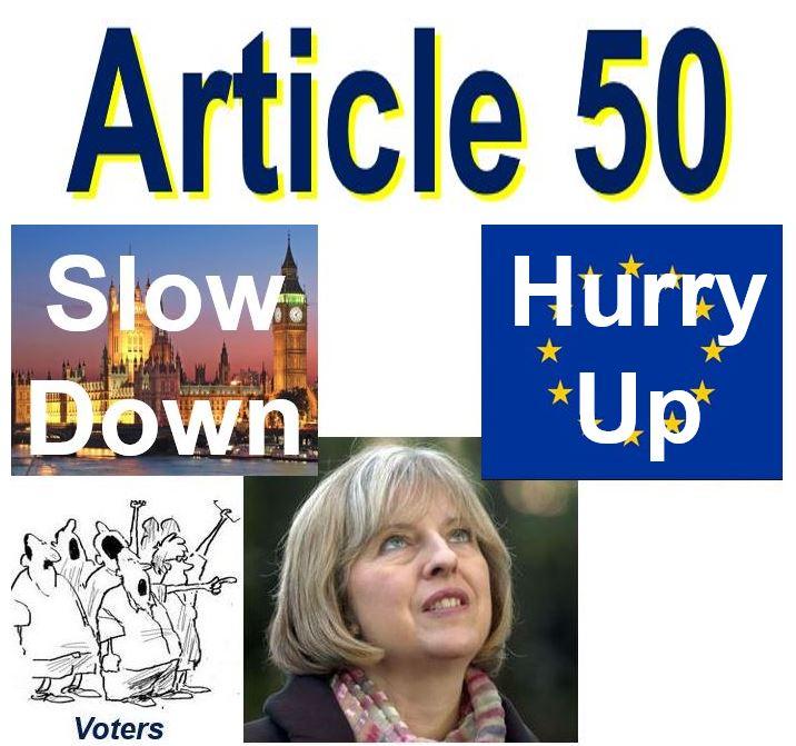 Article 50 and Theresa May