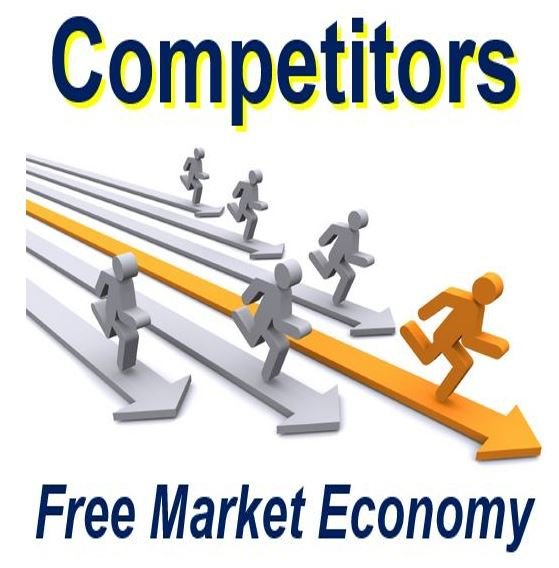 competitors in the free market economy market business news