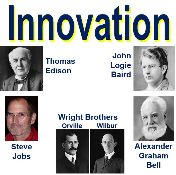 Innovation great inventors