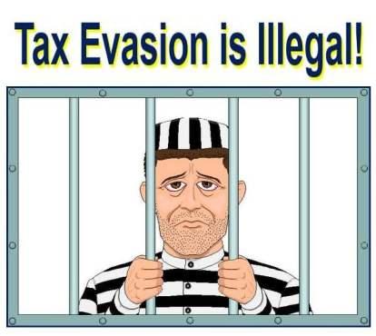 tax evasion is illegal