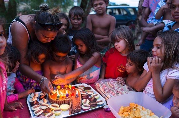 Aboriginal Australian community celebration