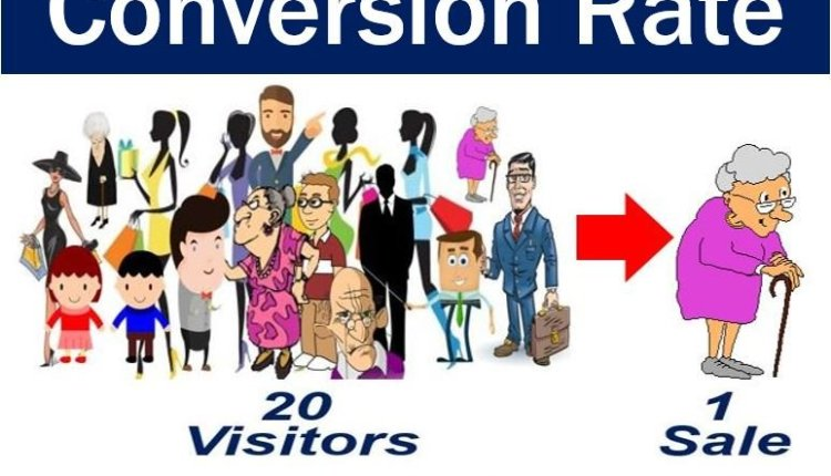 Conversion rate - image with example