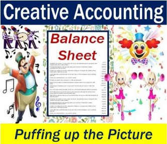Creative accounting - puffing up the picture