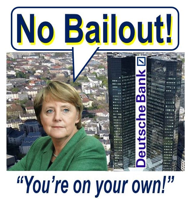 Deutsche Bank AG no bail out