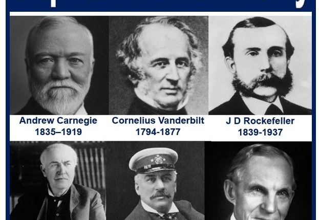 Famous American captains of industry