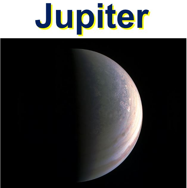 Jupiter the gas giant