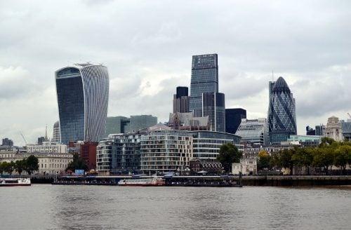 construction industry London buildings