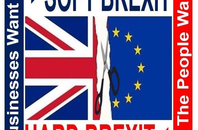 Soft Brexit compared to Hard Brexit