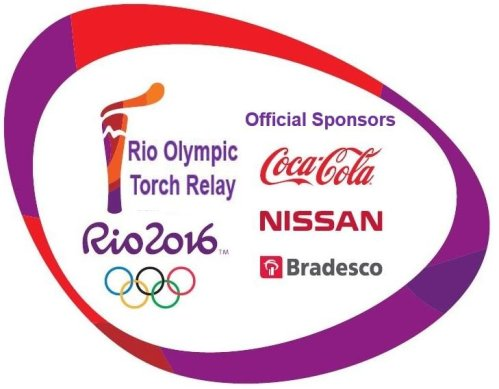 Sponsors of the Rio Olympic Torch Relay