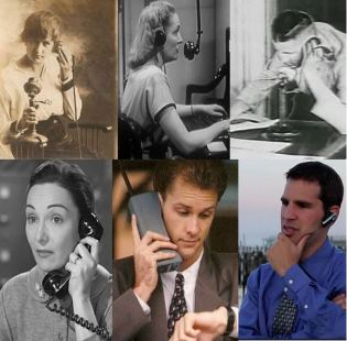 A century of using telephones