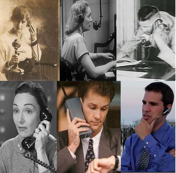 A century of using telephones