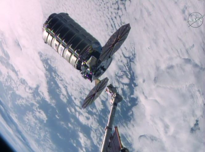 Cygnus fire in space experiment