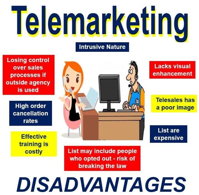 Disadvantages of telemarketing